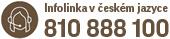 Infolinka v českém jazyce 810 888 100